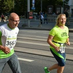 SEB Tallinna Maraton - Tanja Borisova (2349), Aleksei Borovkov (3661)