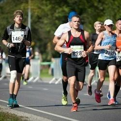 SEB Tallinna Maraton - Margus Merivälja (78), Carry Saluste (828), Rando Proomet (1463), Eurelija Venskaityte (2790)