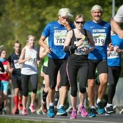 SEB Tallinna Maraton - Elmer Maas (782), Ragnar Kits (819), Annika Rand (1301)
