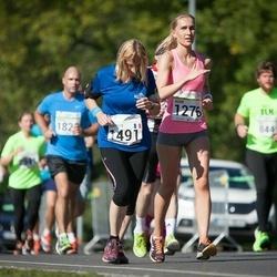 SEB Tallinna Maraton - Agne Väljaots (1276), Béatrice Bartyzel (1491)