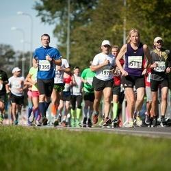 SEB Tallinna Maraton - Elena Antoshkina (511), Andi Aavik (1355), Andres Andema (1398), Tarmo Toom (1970)