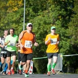 SEB Tallinna Maraton - Nikolai Kin (433), Ago Saluveer (801), Colette Anderson (1266), Risto Reinumägi (3060)