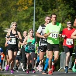 SEB Tallinna Maraton - Nikolai Kin (433), Ago Saluveer (801), Colette Anderson (1266), Gerdi Klaas (1564), Bradley Hurst (1930)