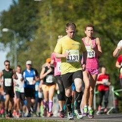 SEB Tallinna Maraton - Dina Bulgakova (1702), Taavi Fuchs (3131), Britta Panker (3616)