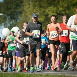 SEB Tallinna Maraton - Florian Bock (1186), Annika Remmer (1651)