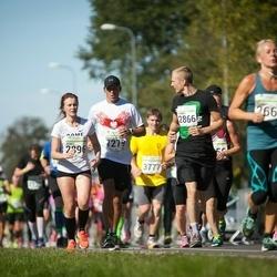 SEB Tallinna Maraton - Miroslaw Srebrny (1279), Vita Seskena (2866), Agnes Salujärv-Kreem (2896)