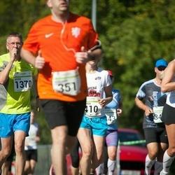 SEB Tallinna Maraton - Adriaan Hobo (351), Ingrida Greivule (410), Aivar Jaeski (1370), Margit Sults (2985)
