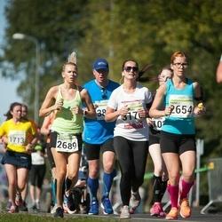 SEB Tallinna Maraton - Anneli Maiste (2654), Berit Rohtjärv (2689), Ann-Mari Koppel (3176)