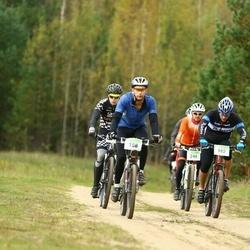 RMK Kõrvemaa Rattamaraton - Priit Roosnupp (158), Sverre Mäesepp (162), Jaanus Aal (248), Siim Rostin (437)