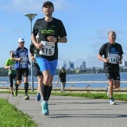SEB Tallinna Maraton - Tõnu Koppel (515), Bent Baisgaard (1148)