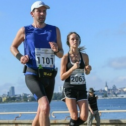 SEB Tallinna Maraton - Petri Gustafsson (1101), Birgitti Pilvet (2063)
