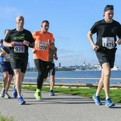 SEB Tallinna Maraton - Leho Virma (939), Velu Hautala (1478), Cardo Jurs (2218)