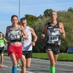 SEB Tallinna Maraton - Brit Rammul (93), Urmo Kallakas (645)