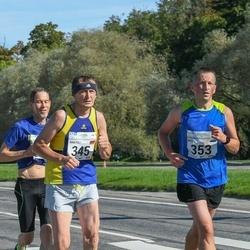 SEB Tallinna Maraton - Anatoli Klishevski (345), Ahti Kelder (353)