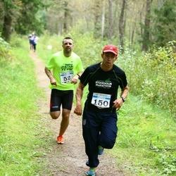 Pirita Sügisjooks - Madis Loit (52), Ken Aunpu (150)