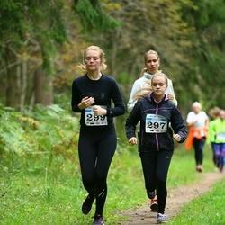 Pirita Sügisjooks - Karolina Kadak (297), Iris Persson (299)