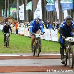 SEB 11. Tartu Rattamaraton - Ago Estermaa (395), Rein Oder (415)