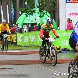 SEB 11. Tartu Rattamaraton - Andis Lejins (407), Marius Kupe (806)