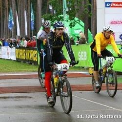 SEB 11. Tartu Rattamaraton - Andis Lejins (407), Aarne Kangur (748)