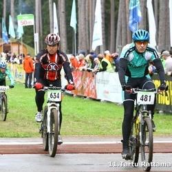 SEB 11. Tartu Rattamaraton - Alvin Vann (481), Hannes Soo (634)