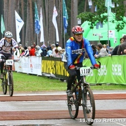 SEB 11. Tartu Rattamaraton - Edijs Grants (979), Arli Lainevool (1118)