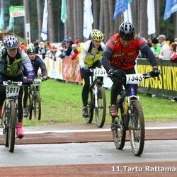 SEB 11. Tartu Rattamaraton - Andre Mägi (1343), Inese Zvirgzdina (2737), Marion Aare (3011)