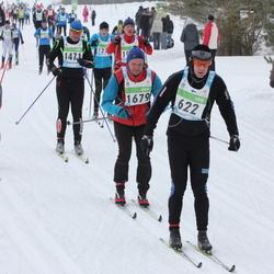 42. Tartu Maraton - Bertel Niemi (622), Taavi Tell (1471), Martin Suuroja (1679)
