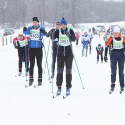 42. Tartu Maraton - Üllar Vill (1851), Aivo Ilves (2635)