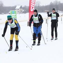 42. Tartu Maraton - Anatoly Alferov (2001), Elor Ilmet (2243), Andro Mikkor (2396)