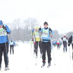 42. Tartu Maraton - Ando Reila (2986), Priit Raidvee (3221)