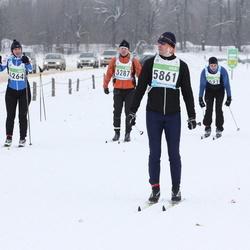 42. Tartu Maraton - Annely Ajaots (4264), Kaspar Hanni (5861)