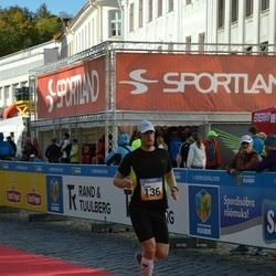 5. Tartu Linnamaraton - Aarne Vasarik (136)