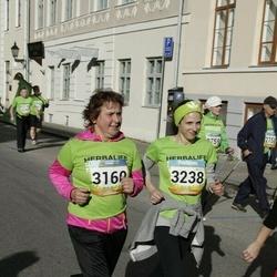 5. Tartu Linnamaraton - Marika Saveljeva (3160), Agnes Sooääre (3238)