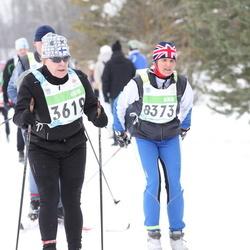 42. Tartu Maraton - Anna-Maija Hirvonen (3619), Anu Ruuven (8373)