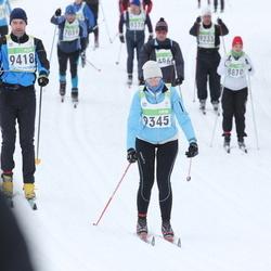 42. Tartu Maraton - Annemari Maddison (9345), Vello Solna (9418)