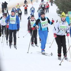 42. Tartu Maraton - Kaire Saul (5424), Aado Haandi (8792), Einar Viira (8841), Lise-Lotte Lääne (9258), Aadi Remmik (9894)