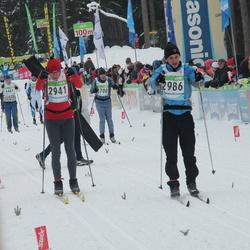 42. Tartu Maraton - Aalo Parmas (2941), Ando Reila (2986)