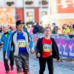 5. Tartu Linnamaraton - Andre Limbak (3717), Taimo Tiitus (3870)