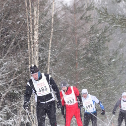 16. Tallinna Suusamaraton - Ergo Mikkor (437), Ago Murakas (483), Priit Kotkas (492)