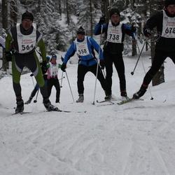16. Tallinna Suusamaraton - Rene Lilienberg (558), Kalle Lett (564), Arno Peever (738)