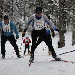16. Tallinna Suusamaraton - Priit Puidak (743), Bruno Kubja (814)