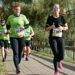 5. Tartu Linnamaraton - Annika Kartsepp (2361), Kirsti Allik (3540)