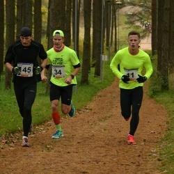 61. Viljandi Linnajooks - Tanel Lang (11), Mardo Lundver (34), Janar Pähn (145)