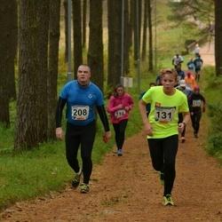 61. Viljandi Linnajooks - Mihkel Rohelpuu (131), Janar Sillaots (208)