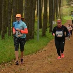 61. Viljandi Linnajooks - Tiiu Varik (134), Linda Meiesaar (254)