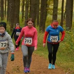 61. Viljandi Linnajooks - Airi Raidma (203), Heli Kallas (205)