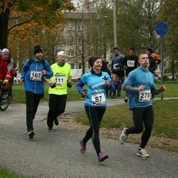61. Viljandi Linnajooks - Kristi Siibak (87), Rauno Ruut (167), Raimo Siibak (278)