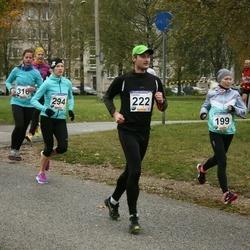 61. Viljandi Linnajooks - Grete Piir (199), Tarmo Sova (222), Grete Põder (294)