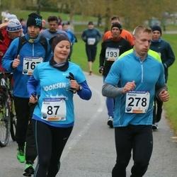 61. Viljandi Linnajooks - Kristi Siibak (87), Raimo Siibak (278)
