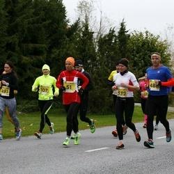 43. Saaremaa kolme päeva jooks - Tiina Mattiisen (51), Laidy Lainoja (539)